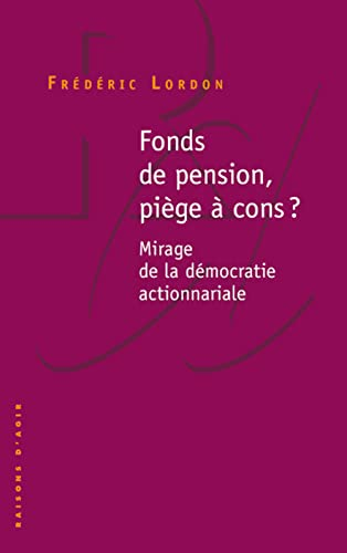 Fonds de pension, piège à cons ?
