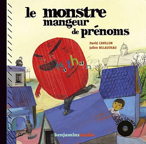 monstre mangeur de prénoms / Le monstre mangeur de prénoms (version Braille) (Le) | Cavillon, David. Auteur
