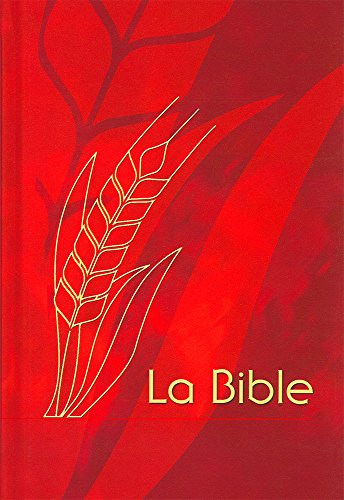 Bible Semeur 2000, couverture rigide quadri rouge
