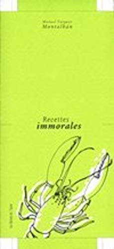 Recettes immorales