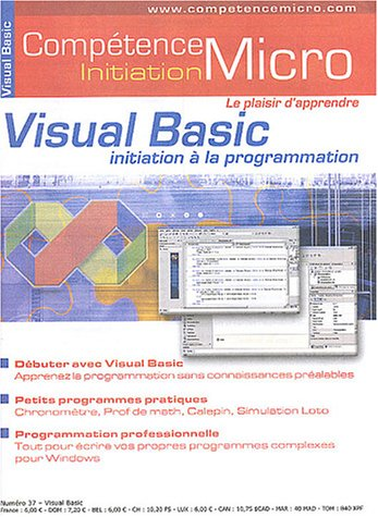 Visual Basic : Initiation à la programmation