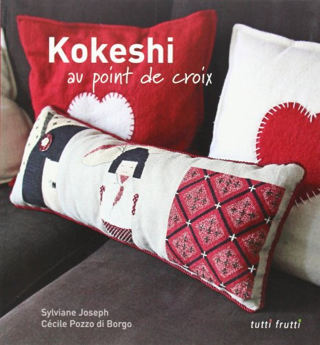 Kokeshi au point de croix