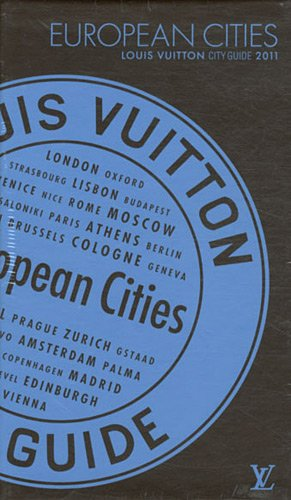 European cities city guide 2011 version anglaise