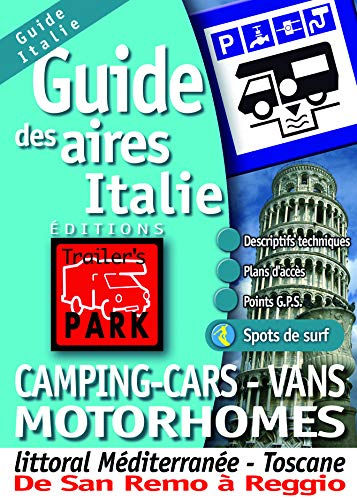 Guide des aires camping-cars - vans motorhomes Italie