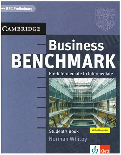 Business Benchmark. BEC Preliminary. Student's Book