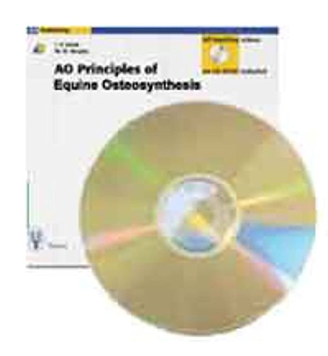 AO PRINCIPLES OF EQUINE OSTEOSYNTHESIS BOOK & CD-R