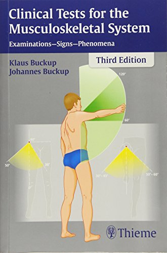 CLINICAL TESTS FOR THE MUSCULOSKELETAL SYSTEM 3E