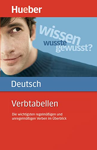 Hueber Dictionaries and Study-AIDS: Verbtabellen Deutsch Als Fremdsprache (German Edition)