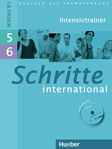 Schritte International: Intensivtrainer MIT Audio-CD 5 & 6 (German Edition)