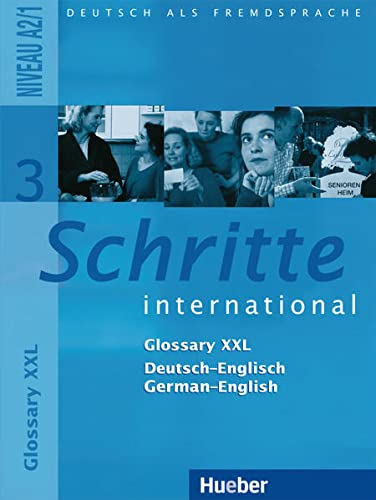 Schritte International: Glossar Xxl 3 (German Edition)
