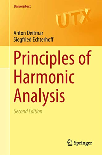 PDF Principles of Harmonic Analysis 2nd edition