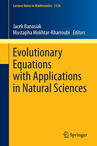 PDF Evolutionary Equations with Applications in Natural Sciences Lecture Notes in Mathematics