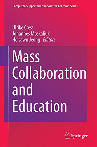 PDF Mass Collaboration and Education Computer Supported Collaborative Learning Series