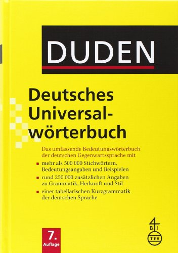 Duden Deutsches Universalworterbuch (German Edition)