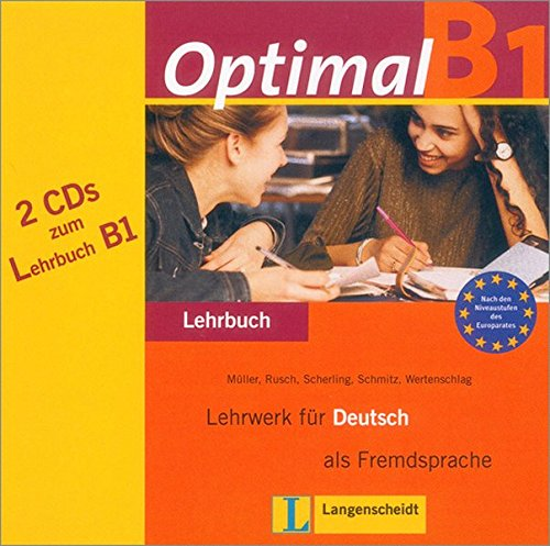 Optimal B1 Audio-cds for Textbook (German Edition)