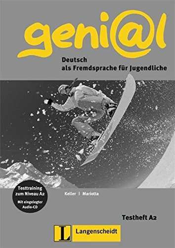 Genial: Testheft A2 & CD (German Edition)