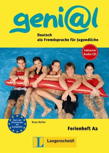 Ferienhefte Geni@L: Ferienheft A2 MIT CD (German Edition)