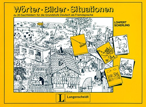 Woerter-Bilder-Situationen (German Edition)