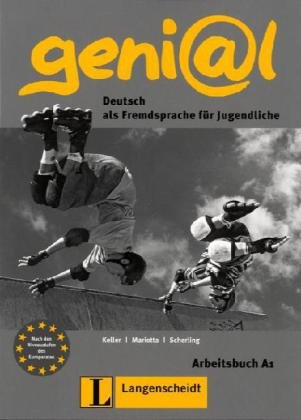 Genial: Arbeitsbuch A1 MIT Audio-CD (German Edition)