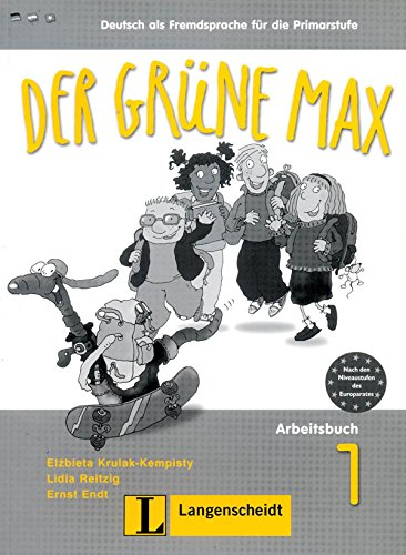 Der Grune Max: Arbeitsbuch 1 MIT Audio-CD (German Edition)