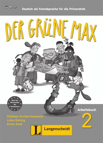 Der Grune Max: Arbeitsbuch 2 MIT Audio-CD (German Edition)