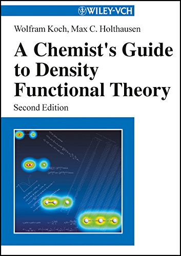 PDF A Chemist s Guide to Density Functional Theory 2nd Edition