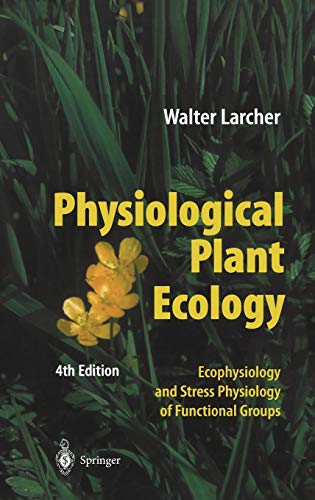 Physiological Plant Ecology, Larcher, Walter