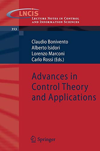 PDF Advances in Control Theory and Applications Lecture Notes in Control and Information Sciences