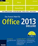 Franzis Paket Office 2013 deluxe: Das Komplettpaket: 10.000 Vorlagen - Office-Tools - Office-Buch