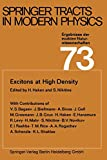 Excitons at high density [electronic resource]