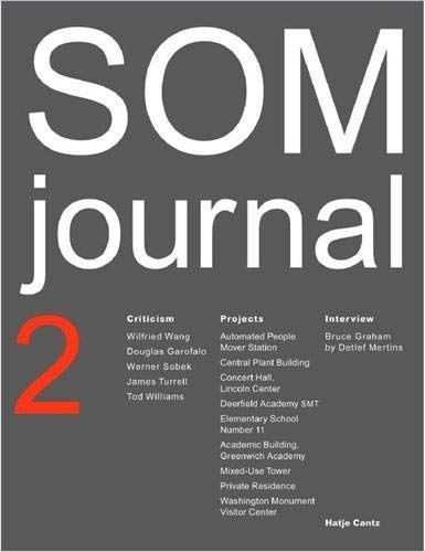 SOM Journal 2 by Wilfried Wang, Douglas Garofalo, Werner Sobek