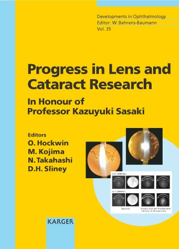 PROGRESS IN LENS AND CATARACT RESEARCH