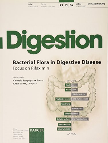 PDF Bacterial Flora in Digestive Disease Focus on Rifaximin Supplement Issue Digestion 206