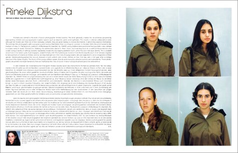 pagina uit 'Art Now - 137 Artists at the Rise of the New Millennium'; Uta Grosenick en Burkhard Riemschneider; uitgeverij Taschen; 2002