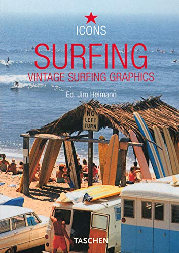 Surfing: Vintage Surfing Graphics (Icons)