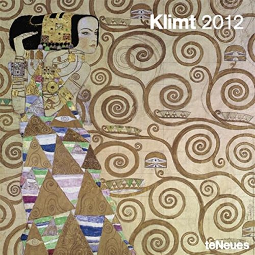 2012 Gustav Klimt Wall Calendar (English, German, French, Italian, Spanish and Dutch Edition)