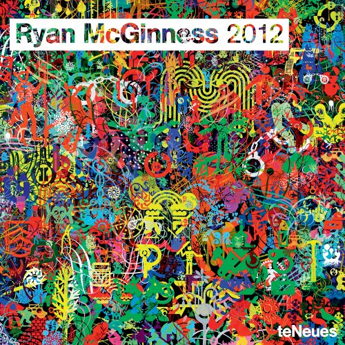 2012 Ryan McGinness Wall Calendar (English, German, French, Italian, Spanish and Dutch Edition)