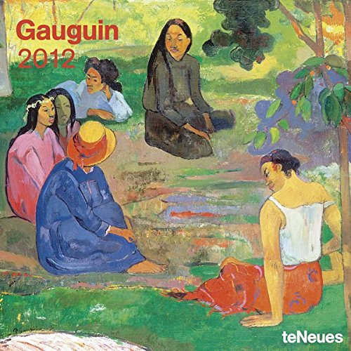2012 Paul Gauguin Wall Calendar (English, German, French, Italian, Spanish and Dutch Edition)