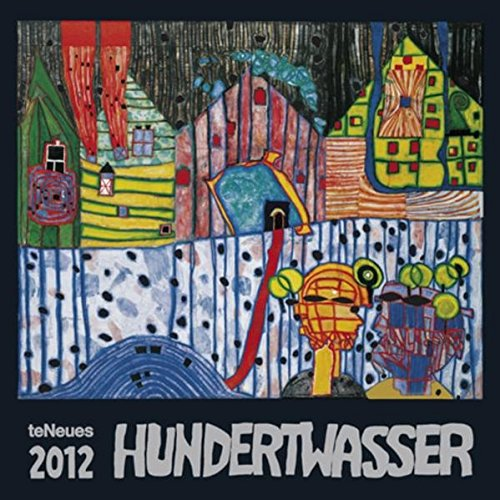 2012 Friedenreich Hundertwasser Art Wall Calendar (English, German, French, Italian, Spanish and Dutch Edition)