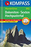 Dolomiten, Sexten, Hochpustertal. Wanderfhrer. Tourenkarte, Hhenprofile, Wandertips