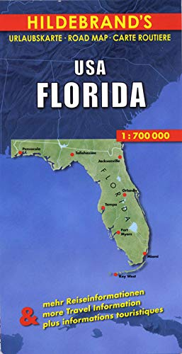 Florida Map (Hildebrand's USA Maps)