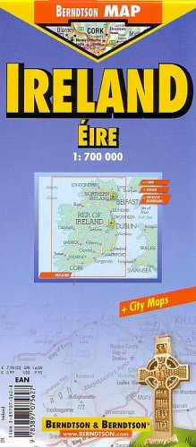 Ireland (B&B Road Maps), Berndtson & Berndtson