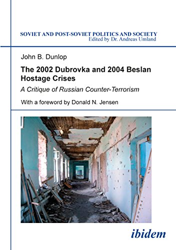 Cover art for The 2002 Dubrovka and 2004 Beslan Hostage Crises