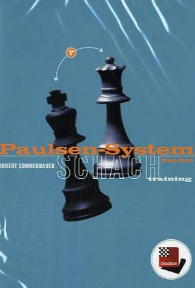 Paulsen-System, B40-B49, ChessBase Schachtraining, 1 CD-ROM, Für Windows 98 SE/2000/Me/XP -- Chessbase
