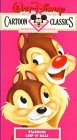 Walt Disney Cartoon Classics - Starring Chip 'N' Dale VHS ~ Disney