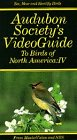 Audubon guide Birds of North   America 4 VHS