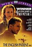 The English Patient - movie DVD cover picture