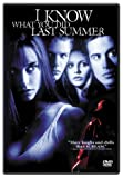 I Know What You Did Last Summer - movie DVD cover picture