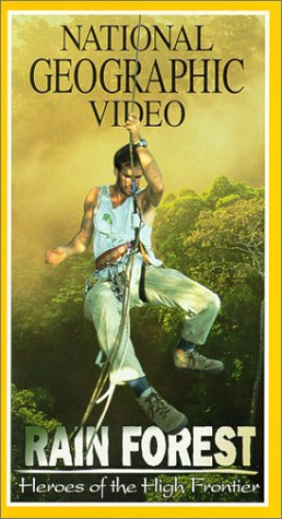 National Geographic Amazon Rainforest VHS