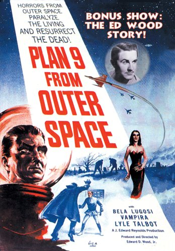 Plan 9 From Outer Space cover
